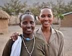 smaller size Kenyan gals